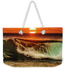 Ahh.. The Sunset Wave Weekender Tote Bag