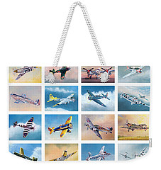 Airplane Poster Weekender Tote Bag