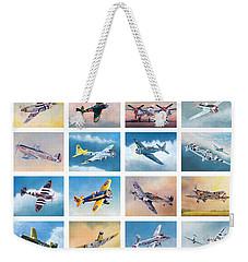 Airplane Poster Weekender Tote Bag