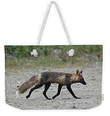 Alaskan Cross Fox Weekender Tote Bag