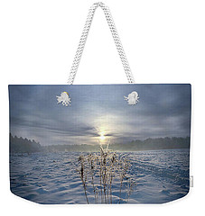 Weekender Tote Bag featuring the photograph All Is Blue For A Time by Phil Koch