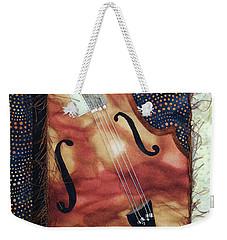 All That Jazz Bass Weekender Tote Bag