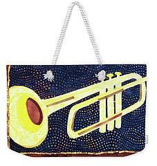 All That Jazz Trumpet Weekender Tote Bag
