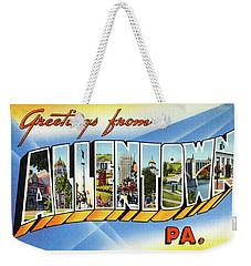 Allentown Greetings Weekender Tote Bag