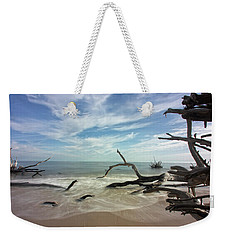 Along The Sand Weekender Tote Bag