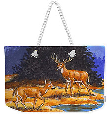 Alpine Refuge Sketch Weekender Tote Bag