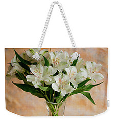Alstroemeria Bouquet On Canvas Weekender Tote Bag