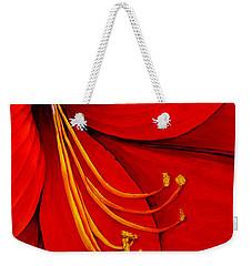 Amaryllis 2 Weekender Tote Bag