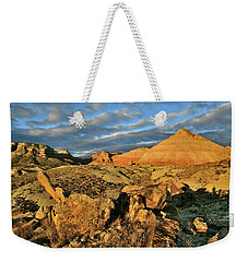 Amazing Clouds Over Ruby Mountain And Colorado National Monument Weekender Tote Bag