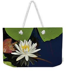 American Water Lily-square Weekender Tote Bag