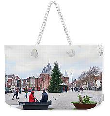 Amsterdam Christmas Weekender Tote Bag