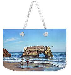 An Adventure On The Beach Weekender Tote Bag