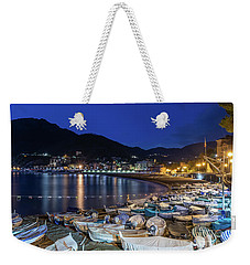 An Evening In Levanto Weekender Tote Bag