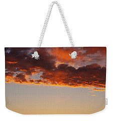 Weekender Tote Bag featuring the photograph An Oklahoma Sunsrise by Rick Furmanek