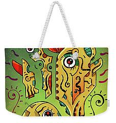 Weekender Tote Bag featuring the digital art Ancient Spirit by Sotuland Art