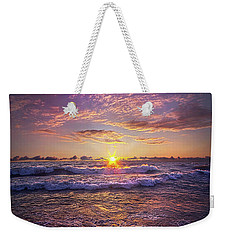 Weekender Tote Bag featuring the photograph And Then Begin Again by Phil Koch