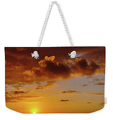 And Then The Sun Set Weekender Tote Bag