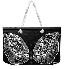 Angel Butterfly Wings Weekender Tote Bag