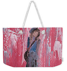 Angel For Peer Pressure Weekender Tote Bag