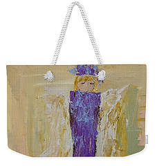 Angel Girl With A Unicorn Weekender Tote Bag
