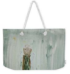 Angel In Green Weekender Tote Bag