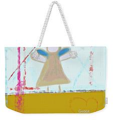 Angel Of Grace Weekender Tote Bag