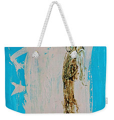 Angel With His Dog Wings Weekender Tote Bag