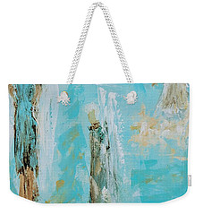 Angels Appear On Golden Clouds Weekender Tote Bag