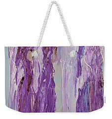 Angels In Purple Weekender Tote Bag
