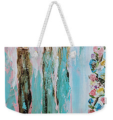 Angels In The Garden Weekender Tote Bag
