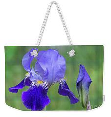 Angie's Iris II Weekender Tote Bag