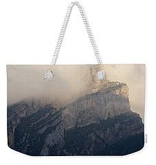 Weekender Tote Bag featuring the photograph Anisclo Abstract by Stephen Taylor