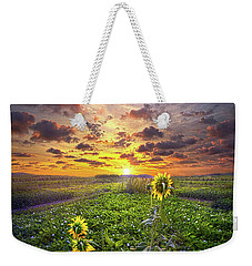 Weekender Tote Bag featuring the photograph Any Time At All by Phil Koch