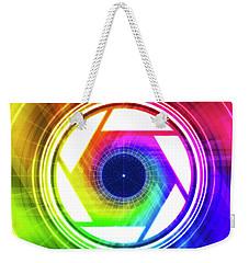 Aperature Weekender Tote Bag