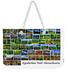 Weekender Tote Bag featuring the photograph Appalachian Trail Massachusetts by Raymond Salani III