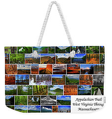 Weekender Tote Bag featuring the photograph Appalachian Trail West Virginia Through Massachusetts by Raymond Salani III