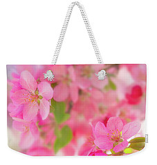 Weekender Tote Bag featuring the photograph Apple Blossom 4 by Leland D Howard