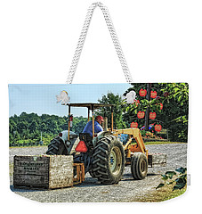 Weekender Tote Bag featuring the photograph Apple Orchard by Tatiana Travelways