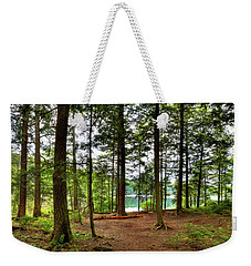 Weekender Tote Bag featuring the photograph Approaching Sis Lake by David Patterson