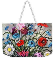 April, May, June Weekender Tote Bag