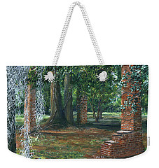 Ardoyne Ruins Near The Mansion, Houma, Louisiana Weekender Tote Bag