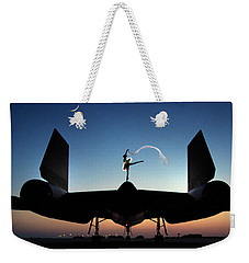 Area 71 Power And Grace Weekender Tote Bag