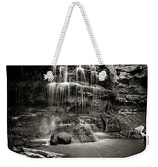 Rock Glen Falls Weekender Tote Bag