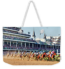 Around The First Turn Weekender Tote Bag