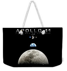 Apollo 11 First Man On The Moon Weekender Tote Bag