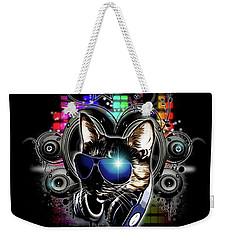Drop The Bass Weekender Tote Bag