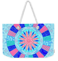 Q Is For Quilt And Quill Weekender Tote Bag