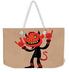 Heavy Metal Devil Weekender Tote Bag