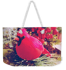 Weekender Tote Bag featuring the photograph Blessed Yule by Rachel Hannah