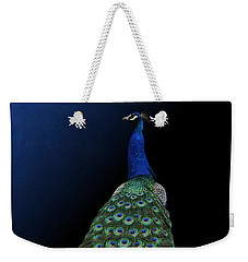 Dressed To Party - Male Peacock Weekender Tote Bag